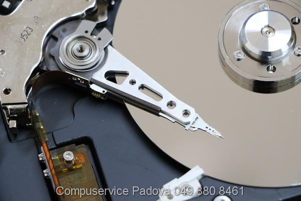 recupero dati padova hard disk, diagnostica dischi che non funzionano padova