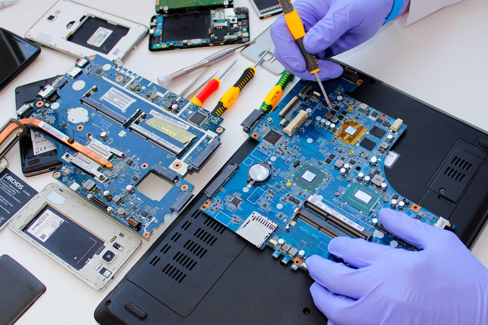 assistenza riparazione notebook computer pc padova