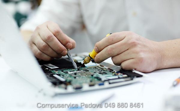 riparazione pulsante di accensione spegnimento Asus errori strani assistenza Asus padova Acer Lenovo Hp